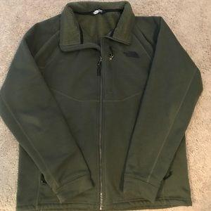 Men's north face zip up jacket